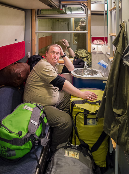 Sleeper Cabin - Ice Raven - Sub Zero Adventure - Copyright Gary Waidson, All rights reserved.