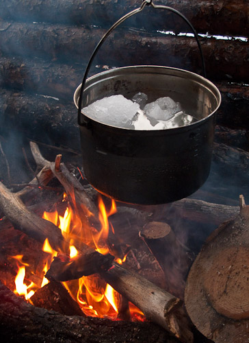 Snowball Soup - Ice Raven - Sub Zero Adventure - Copyright Gary Waidson, All rights reserved.